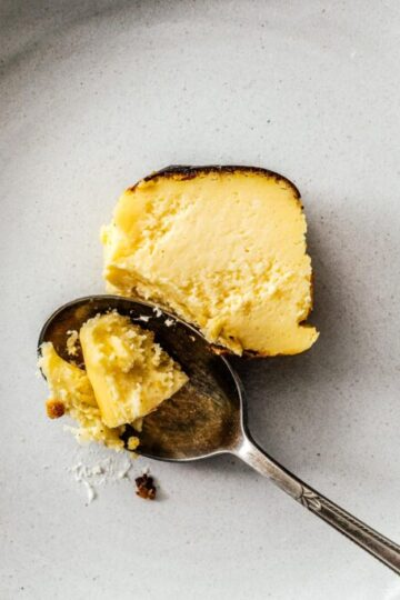 Small Batch Basque Burnt Cheesecake Recipe