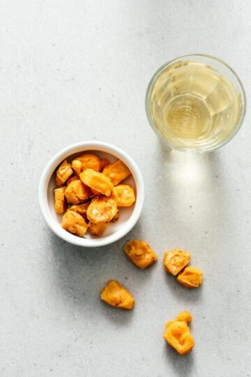 Keto Air Fryer Popcorn Cheese Puffs Recipe